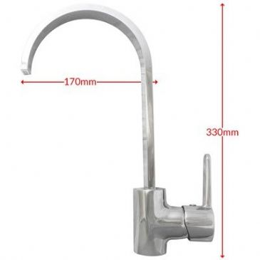 SIRIUS KITCHEN TAP WITH TAILS